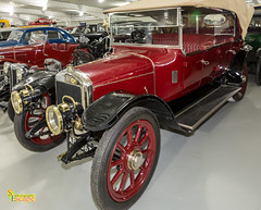 1914 Austin 20hp (Vitesse Phaeton)- British Motor Museum, Gaydon, Warwick. UK (2.2 mil views - Thank you all.) Tags: stratfordonavondistrict england unitedkingdom gb staneastwood stanleyeastwood car wheel light vintage headlight grill horn