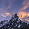 Stetind Burn (Jay Daley) Tags: a7r2 sony clouds sunrise arctic norway mountain stetind