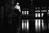 light in the darkness (Rien van Voorst) Tags: streetphotography straatfotografie strasenfotografie fotografíacallejera photographiederue fotografiadistrada blackandwhite urban city netherlands dutchhighcontrast fuji xt20 sun shadow man station bahnhof