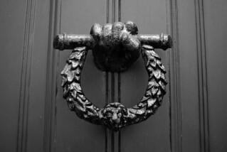 Knocking on Keats House door