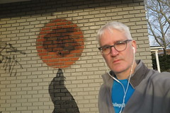 IMG_2346 (Mud Boy) Tags: nyc newyork brooklyn clay clayhensley clayturnerhensley banksy streetart graffiti thebuildingfeaturingthesealstencilat1249coneyislandavenueaformermobilgasandservicestationisslatedfordemolitiontomakewayforafourstory50000squarefootselfstoragecomplexbeingbuiltbysafenlocksnl midwood 1249coneyislandavenue thestreetartistpaintedoneofhisnewestworksonabuildingthatwasalreadyslatedfordemolition banksyblitzcontinuesinnycwithnewmuralsinbrooklyn banksysbackinmidwood everyonesfavoritestreetartisthasleftsohobehindtoplacetwonewmuralsatadefunctbrooklyngasstation