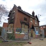 Highgate Park - fire damaged lodge house thumbnail