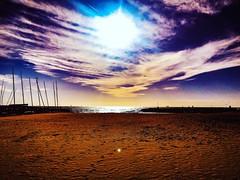 Setge (ive_rosario) Tags: barcelona photooftheday photo photography places color beach setge capture moment sun blue composition