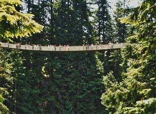 British Columbia - Canada - Capilano Suspension Bridge Park - North Vancouver