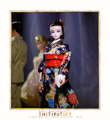 Madame Butterfly (thitipatify) Tags: silkstone japan kimono