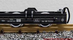 LGB 49180-02 Sächsischer Rollwagen (Stefan's Gartenbahn) Tags: lgb 49180 rollwagen sächsischer sachsen gartenbahn märklin dr 970542 970528 l49180 fgb fgbberlin fgbteam kuppelbaum kuppelbäume haltebock halteböcke