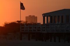 Sunset Cabana (padraicsmeehan) Tags: beach sunandsurf sand birds coast longisland atlanticbeach ny newyork unitedstates usa america beachclub ocean atlanticocean