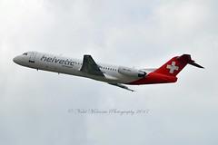 Helvetic Airways HB-JVC Fokker F100 cn/11501 @ EDDL / DUS 16-06-2017 (Nabil Molinari Photography) Tags: helvetic airways hbjvc fokker f100 cn11501 eddl dus 16062017