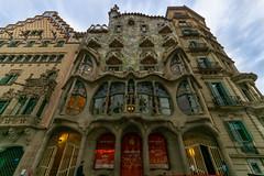 Casa Batllo (fate atc) Tags: antonigaudi artnouveau barcelona casabatllo catalonia gaudi passeigdegracia spain architecture building casadelsossos design modernism tracery
