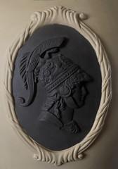 It should taste of Chocolate (blackthorne56) Tags: italy italian itallian jasperware copy imitation fake chocolate cream roman soldier motif medallion