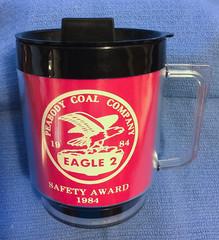 Peabody Eagle 2 Cup (Coalminer5) Tags: coalmining coalmemorabilia coalcollectibles coal coalartifact cup mining miningmemorabilia miningcollectible miningartifacts safetyaward eagle2 eagle2mine