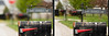 Depth of Field 48 (LongInt57) Tags: mailbox street flag diptych red black green suburbs suburbia stlouis fairviewheights illinois usa