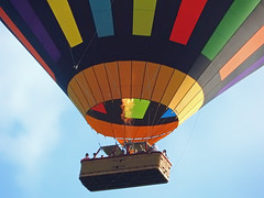 Up Up and Away! (macfudge1UK) Tags: balloon hotairballoon people 2018 nikon nikonp610 coolpixp610 nikoncoolpixp610 britain england greatbritain uk oxon oxfordshire leisure summer sky all rights reserved ©allrightsreserved