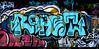 graffiti in Amsterdam (wojofoto) Tags: amsterdam nederland holland graffiti streetart wojofoto wolfgangjosten ndsm roast throws throwups throw throwup