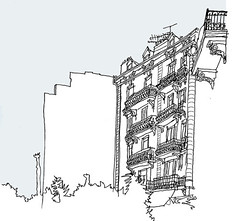 Cannes, France, May 2018 (stevefaradaysketches) Tags: nice france urbansketch urbansketchers inkdrawing sketch onlocation illustration penandinksketch
