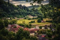 Tintern Village (Stephen Reed) Tags: tintern wales monmouthshire britain naturalbeauty nikon lightroomcc colorefexpro4 d7000