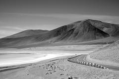 estrada para o deserto (renanluna) Tags: monocromia monochromatic pretoebranco blackandwhite pb bw deserto desert atacama desertodoatacama chile ch fuji fujifilm fujifilmxt1 xt1 renanluna