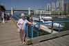 Mum with the Burrard Street Bridge (_K1_1837) ([Rossco]:[www.rgstrachan.com]) Tags: britishcolumbia canada granvilleisland vancouer holiday mun publicmarket vacation vancouver ca