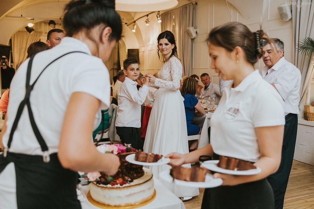 618 - ZAPAROWANA - Kameralny ślub z weselem w Bistro Warszawa