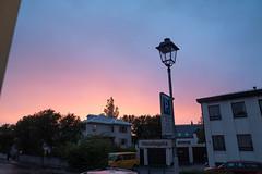 Midnight sun in Reykjavik (olikristinn) Tags: 19062018 2018 hávallagata hávallagata17 iceland june june2018 reykjavik reykjavík vesturbær birta bjartarnætur brightnights heima home midnightrainbow midnightsun miðbær