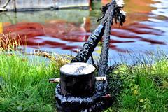 BOW JUBAIL OIL SPILL (dv-hans) Tags: bowjubail oilspillresponseteam chemicaltanker hebo hein botlek pollution oilspill lbc jetty tshd thirdpetroleumharbor