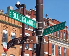 Street Sign (Brule Laker) Tags: chicago illinois pilsen caf chicagoarchitecturefoundation walkpilsen