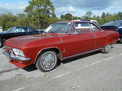 1966 Chevy Corvair Monza (splattergraphics) Tags: 1966 chevy corvair monza carshow carlisle fallcarlisle carlislepa