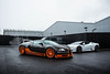 The local. (TJHarrington) Tags: bugatti veyron supersport worldrecordedition wre 1of5 268mph car supercar hypercar carbon orange nottingham graypaul graypaulnottingham supercardriver