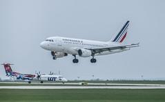 AIR FRANCE in BUD (Dreamaxjoe) Tags: airport budapest aeroplane