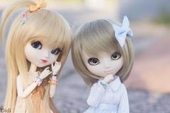 Bonnie & Eevee (Carlota135) Tags: pullip pullipdoll pullipobitsu pullipcute