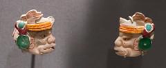 IMG_1775 (jaglazier) Tags: 2018 32518 600ad650adburial39 7thcentury 7thcenturyad animals archaeologicalmuseum artmuseums bonecarving cinnabar crafts elperuwaka faces goldenkingdomsluxuryandlegacyintheancientamericas gravegoods guatemala guatemalacity headdresses heads jaguars jewelry mammals march maya mayan mesoamerican metropolitanmuseum mexican mexico museonacionaldearqueologiayetnologia museums newyork precolumbian religion rituals specialexhibits structureo1404 turquoise usa archaeology art basrelief burialgoods copyright2018jamesaglazier engraved figurines funerary incised jadeite lowrelief mythical ornaments pyrite relief sculpture shell werejaguars unitedstates