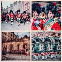On This Day: 22 April 2016 Royal Regiment exercises its Freedom of the City of Edinburgh on the occasion of its 10th Anniversary (FotoFling Scotland) Tags: freedom edinburgh army regiment kilt uniform