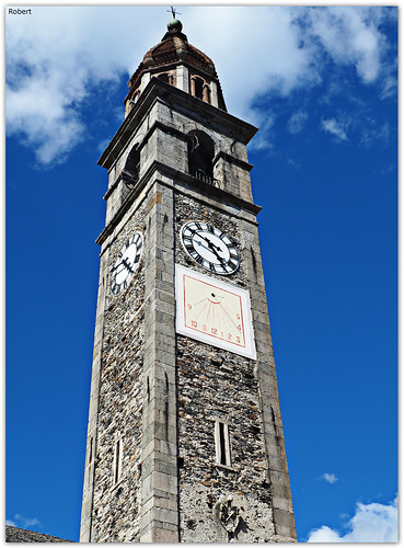 Ascona - Chiesa parrocchiale dei Santi Pietro e Paolo