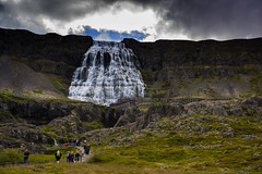 Dynjandi waterfall in Iceland. (ost_jean) Tags: waterfall waterval dynjandi nikon d5200 tamron sp af 1750mm f28 xr di ii vc ld aspherical if b005n ostjean