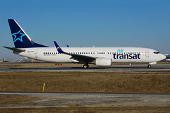 OK-TVF (Air Transat) (Steelhead 2010) Tags: airtransat travelservice boeing b737 b737800 yyz okreg oktvf