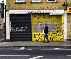 Prayer Place, Old Kent Road (London Less Travelled) Tags: uk unitedkingdom britain england london southwark oldkentroad church prayer worship christian chiristianity graffiti