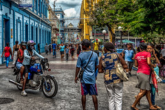Final Walkabout in Santiago - 8 (AaronP65 - Thnx for over 13 million views) Tags: santiago cuba streetlife