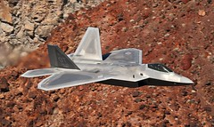 F22 RAPTOR (Dafydd RJ Phillips) Tags: f22 raptor fifth generation operational test death valley jedi transition star wars canyon