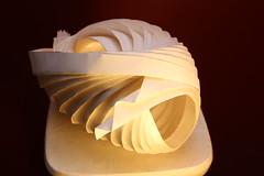 Semi-open shell (peterdbarnes) Tags: folded folding giấy kertas könyv origami papel paper papier papir papper pleat бумага נייר مقاله ورقة काग़