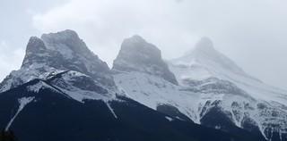 Three Sisters ..  Canmore Alberta Canada