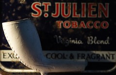 Pipe - Macro Monday (katy1279) Tags: backintheday macromondays claypipe tobacco smoking