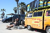Surf Lessons Van (erica-kalmeta) Tags: surf lesson van beach men skateboard relax chill chilling peace volkswagon oneill rip curl swim swimming suits hot sun california santa monica pier vacation weekend venice muscle palm trees blonde hang loose bro broski man weather sunny wetsuits