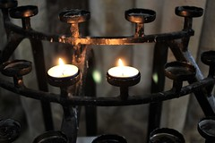 Praying For Peace! (springblossom3) Tags: easter candle pray wells cathedral somerset tourism worship
