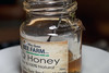 Honey, Oh Honey - _TNY_4073 (Calle Söderberg) Tags: macro canon canon5dmkii canoneos5dmarkii vietnam phuquoc flash meike mk300 glassdiffusor phuquocbeefarm honey rawhoney bee bi honungsbi honeybee apis mellifera jar honeyjar recycling taste tasting glassjar label f95 pqhoney 5d2