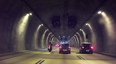 Inside Tunel TD 01 (Harold Brown) Tags: architecture automobile brazil car kodakz1485 saobernardodocampo summer transportation travel tunnel vehicle bhagavideocom haroldbrowncom harolddashbrowncom highway photosbhagavideocom road vanishingpoint haroldbrown