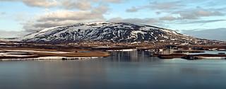 Úlfljótsvatn og Búrfell