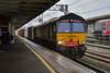66415 - Nuneaton - 12/04/18. (TRphotography04) Tags: freightliner 66415 passes through nuneaton working 4l90 1232 crewe bas hall ssm felixstowe south flt