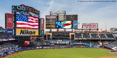National Anthem (20180413-DSC04137) (Michael.Lee.Pics.NYC) Tags: newyork mets citifield mlb majorleaguebaseball nationalanthem pregame scoreboard outfield stadium architecture sony a7rm2 voigtlanderheliar15mmf45