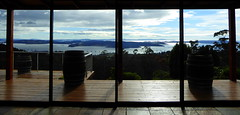 Aussicht zur Bruny Insel (Alfesto) Tags: australien tasmanien woodbridge woodbridgehillhideaway brunyinsel