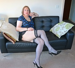 IMG_1765 (Jenny Gloria Williams) Tags: transgendered tranny transvestite tg transvestie trannie tranvesti transvestit transvestism travestido transvestitism crossdresser crossdressing crossdress crossdressed stockings jennywilliamstv slingbacks